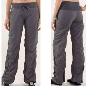 Lululemon Grey Dance Studio Pant Unlined